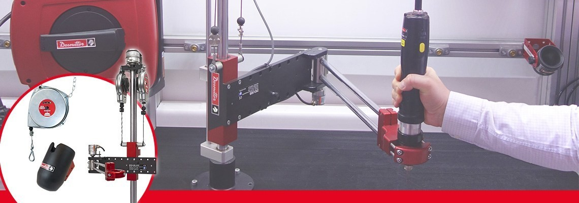 To increase the perfomance of your tools and your workstations. Desoutter industrial tools propose a large range of products. Contact us for a demo.